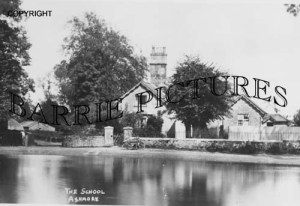 Ashmore, The School c1920