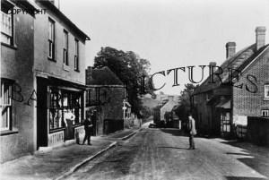 Bere Regis, Hatton's Stores c1930
