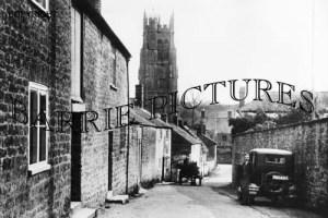 Beaminster, Church c1935