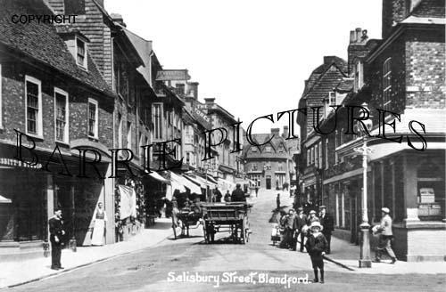 Blandford, Salisbury Street c1905