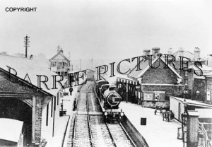 Blandford, The Station c1920