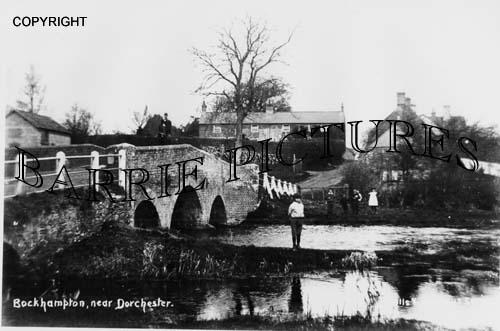 Bockhampton, Village and Bridge c1900