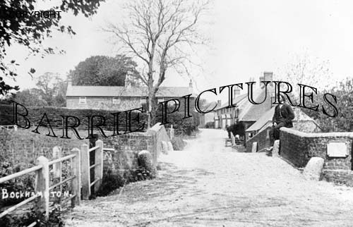 Bockhampton, Bridge and Village c1905