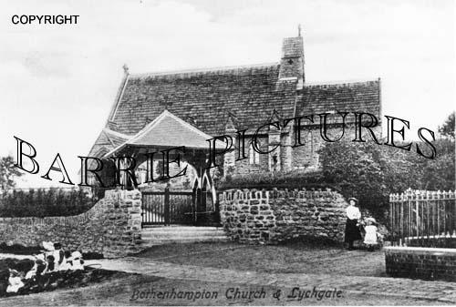 Bothenhampton, Church and Lychgate c1900