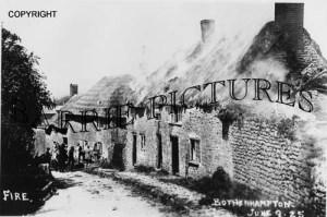 Bothenhampton, Fire 9th June 1925