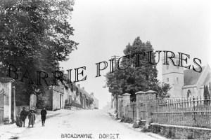 Broadmayne, Village and Church c1900