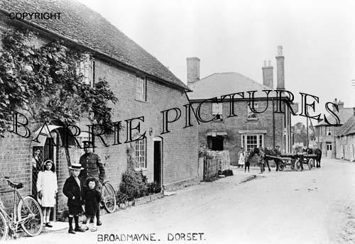Broadmayne, Village c1915