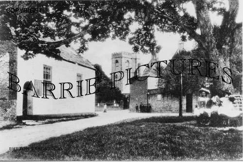 Burton Bradstock, Village and Church c1900