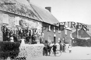 Chideock, The George Inn c1900