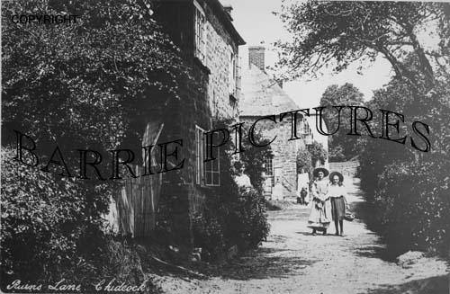 Chideock, Ruins Lane c1900