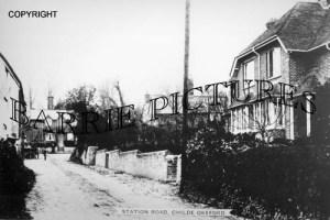 Child Okeford, Station c1890
