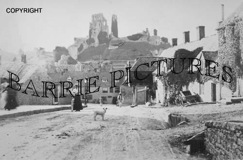 Corfe Castle, c1900