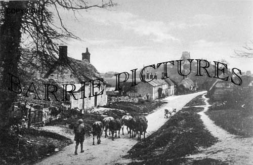 Corfe Castle, Village c1890