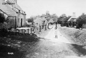 Corfe Castle,Village c1900