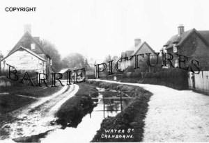 Cranborne, Water Street c1900