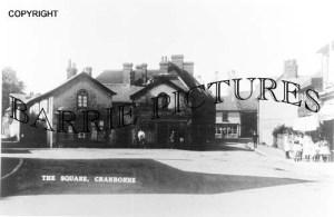 Cranborne, The Square c1910