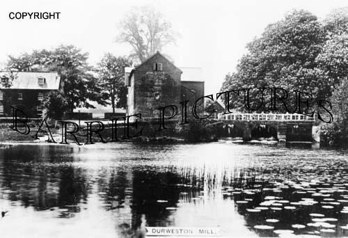 Durweston, Mill c1900