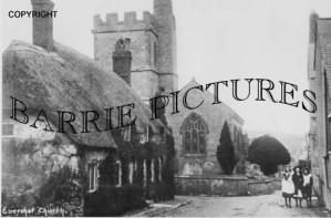 Evershot, Church c1910
