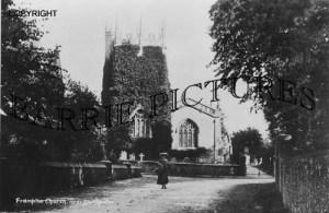 Frampton, Church c1900