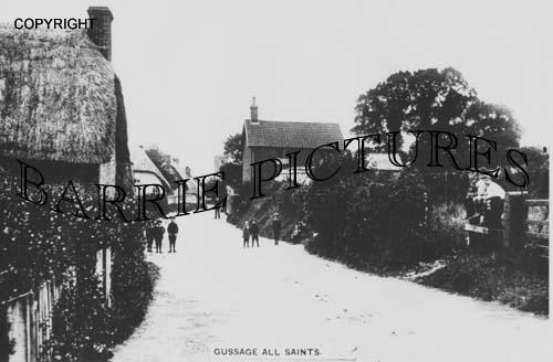 Gussage All Saints, Village c1920