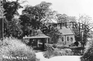 Kington Magna, Church c1900