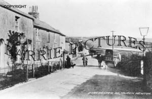 Maiden Newton, Dorchester Road c1920