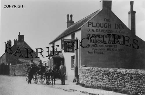 Osmington, The Plough Inn c1900