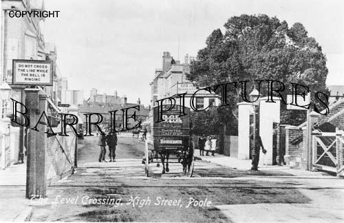 Poole, High Street Level Crossing c1910