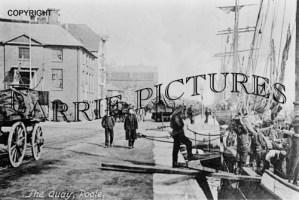 Poole, The Quay c1890
