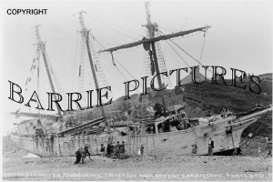 Portland, Madeleine Tristan High and Dry at Chesil Cove c1900