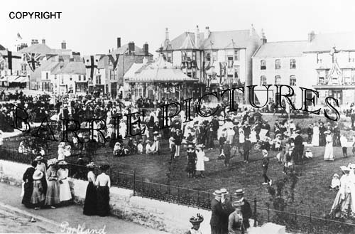 Portland, The Band Stand c1900