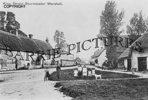 Sturminster Marshall, King Street c1910