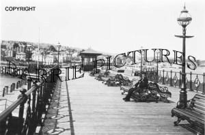 Swanage, The Pier c1910