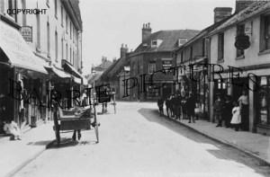 Wimborne, East Street c1910