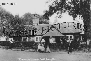 Witchampton, The Arms Houses c1900