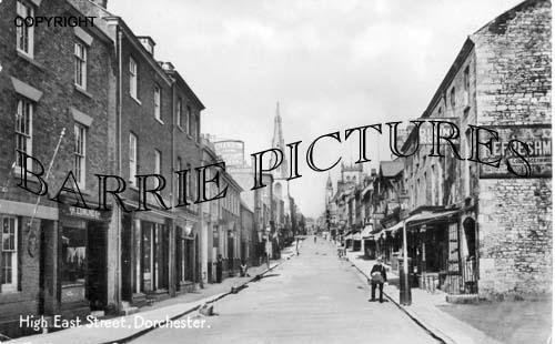 Dorchester, High East Street c1905