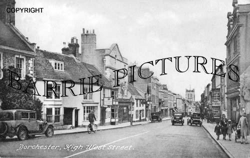 Ddorchester, High West Street c1940