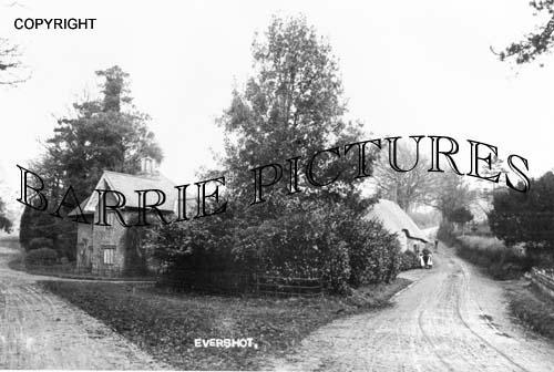 Evershot, c1890