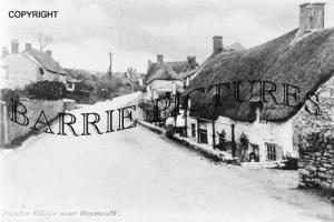 Preston, Village c1890