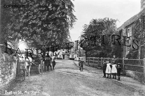 Marnhull, Burton Street c1890