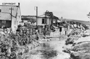Maiden Newton, The River c1925