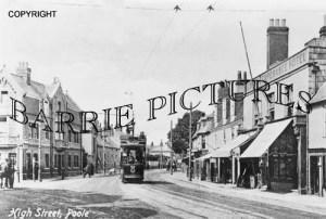 Poole, High Street c1910
