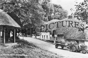 Tolpuddle, Martyrs Seat c1950