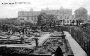 Longleat, Gardens and House c1910