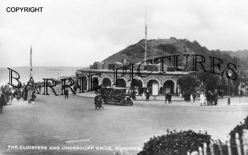 Boscombe, The Cloisters Undercliff Drive c1906