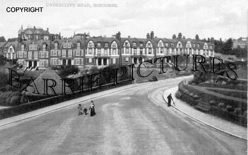 Boscombe, Undercliff Road 1906