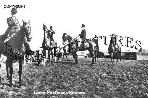 Blandford, The Portman Hunt c1890