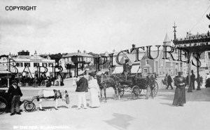 Bournemouth, by the Pier 1890