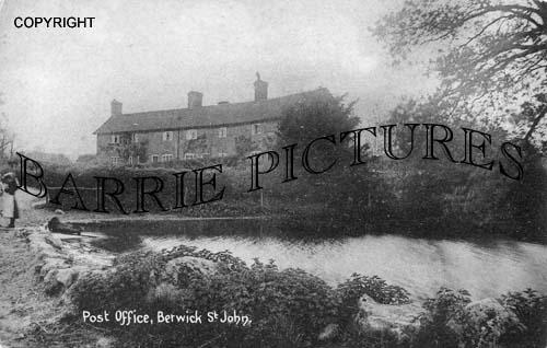 Berwick St John, Post Office c1910