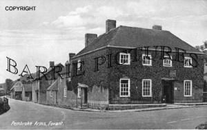 Fovant, Pembroke Arms c1945